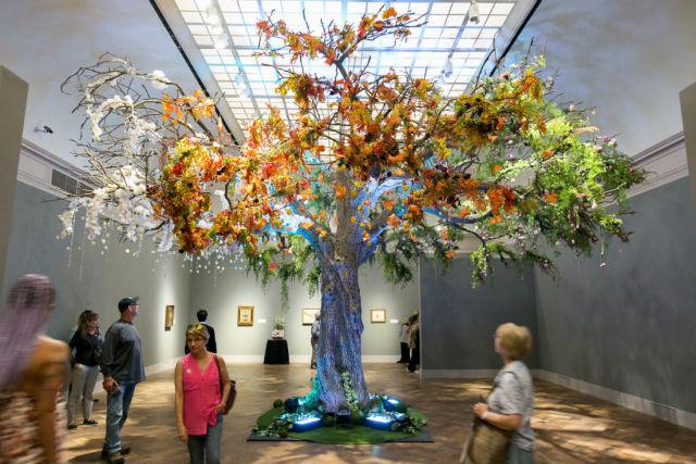 Art Alive floral exhibition
