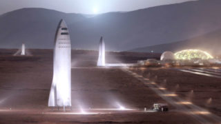 BFRs on Mars