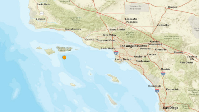 Magnitude 5.3 Earthquake Strikes Off Southern California Coast