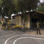 Clover Flat Elementary School fire