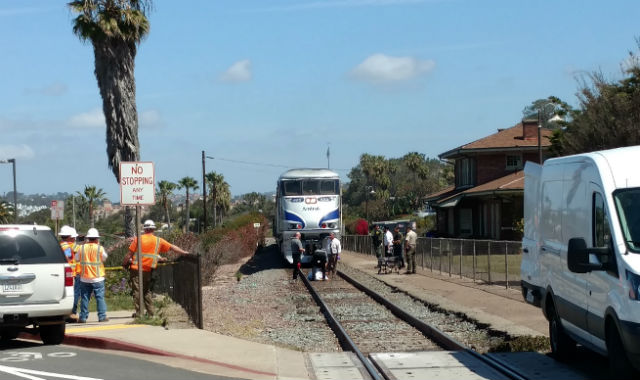 Woman Struck, Killed by Amtrak Train in Del Mar - Times of