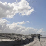Beach sand replenishment