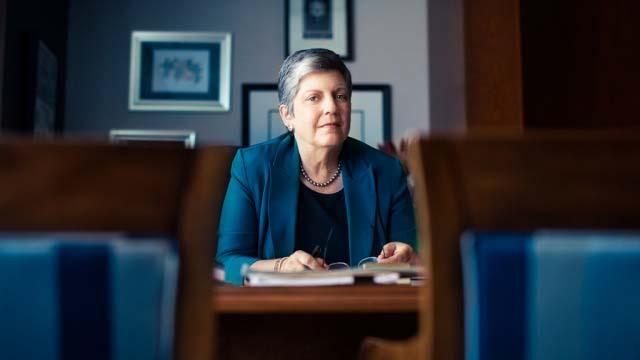 UC President Janet Napolitano.