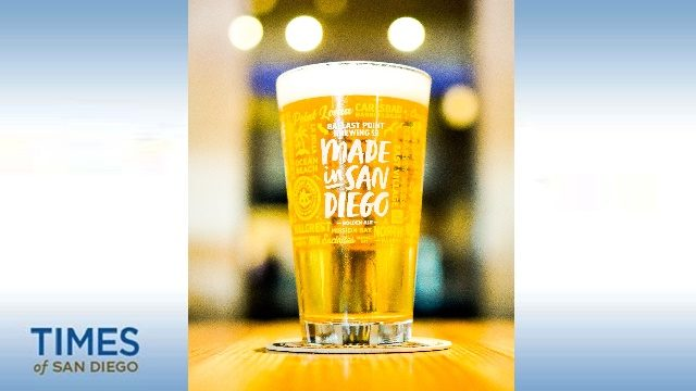 Made in San Diego beer