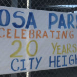 Banner at Rosa Parks Elementary