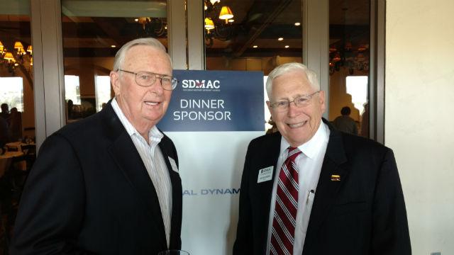 Jim Bedinger and Larry Blumberg