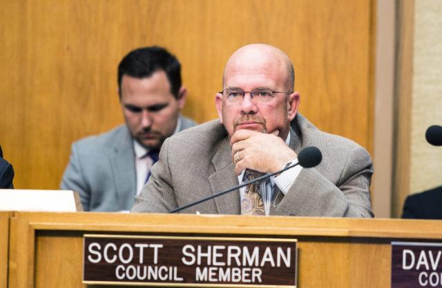 スコットシャーマン諭調査を示す第二の場所にはサンディエゴ市長のレース
