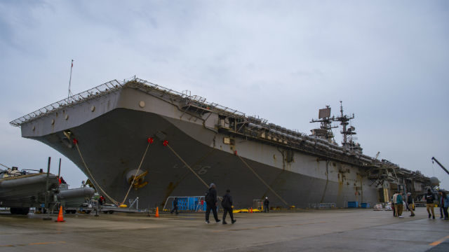 USS Bonhomme Richard in Sasebo
