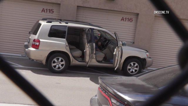 tan SUV