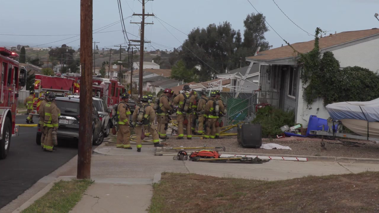 Linda Vista house fire