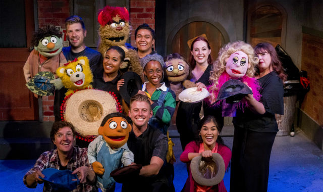 "Cast of ""Avenue Q"""