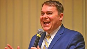 Carl DeMaio, a radio talk show host, spoke of the repeal of the gas tax.
