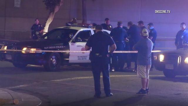 East Village crime scene