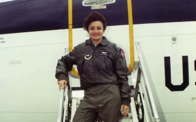Graciela Tiscareño-Sato in the Air Force