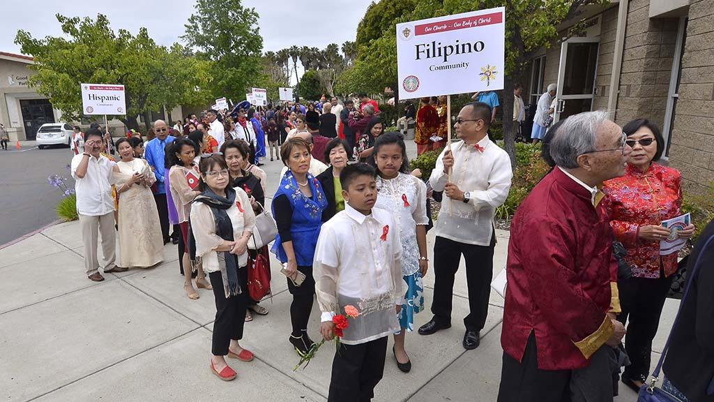 Members of Catholic ethnic communities.