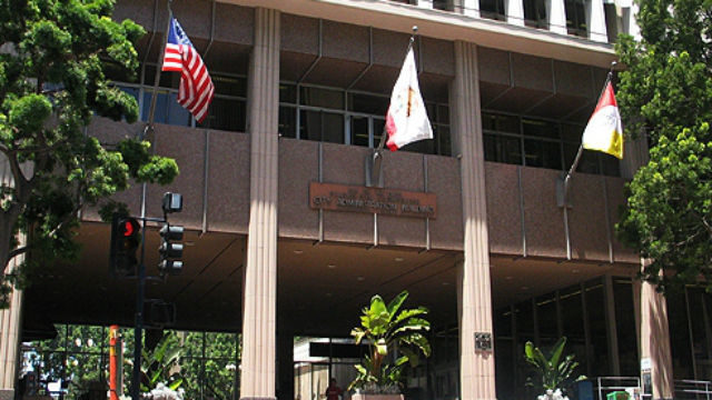 San Diego city administration building