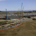 Interstate 5 construction at the San Elijo Lagoon