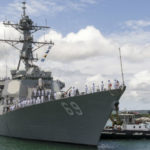 USS Milius arrives in Pearl Harbor