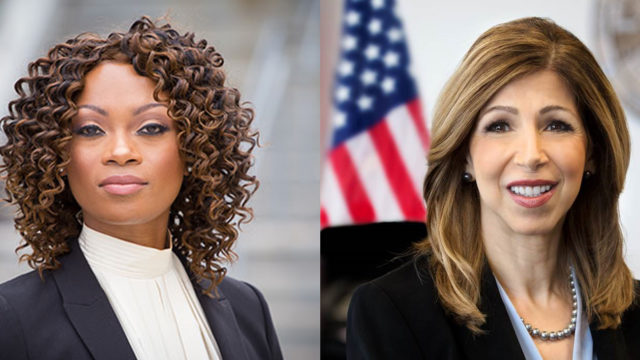 District attorney candidates Geneviéve Jones-Wright, left, and Summer Stephan.(Courtesy: Geneviéve Jones-Wright and Summer Stephan campaigns)
