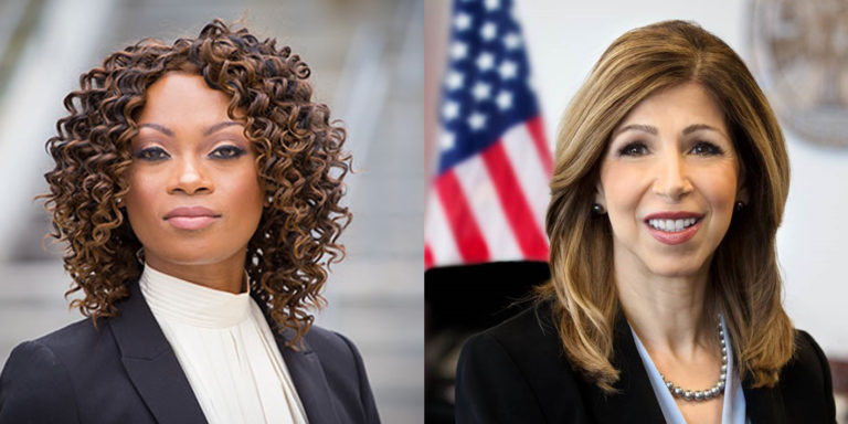 District attorney candidates Geneviéve Jones-Wright, left, and Summer Stephan.(Courtesy: Geneviéve Jones-Wright and Summer Stephan campaigns)