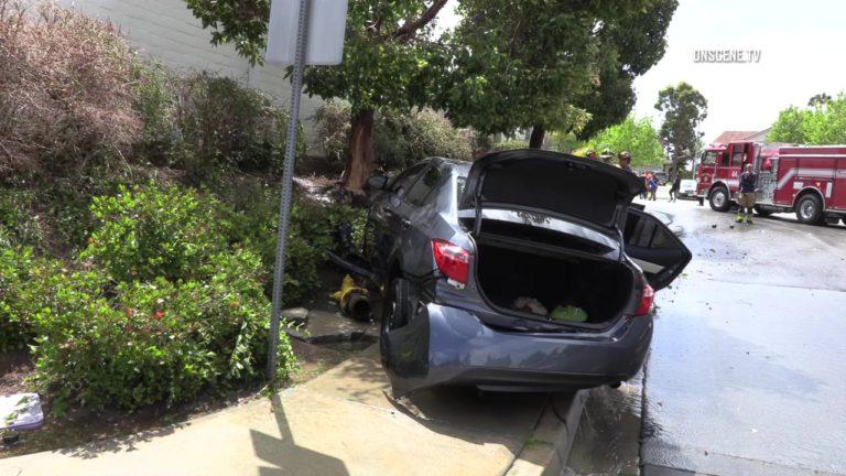 Mira Mesa Hydrant Crash