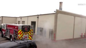 National City fire crew responds to smoke at Cortez Cremations and Funeral Services