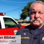 Battalion Chief Mike Van Bibber of Julian-Cuyamaca Fire Protection District.