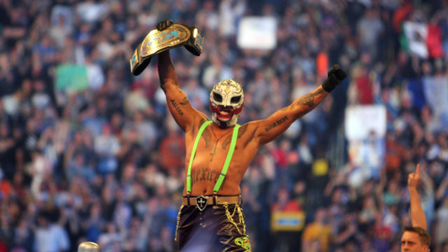 Rey Mysterio WrestleMania XXV