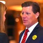 State Senate candidate Brian Jones on election night.