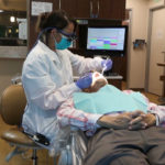 Treating an elderly dental patient