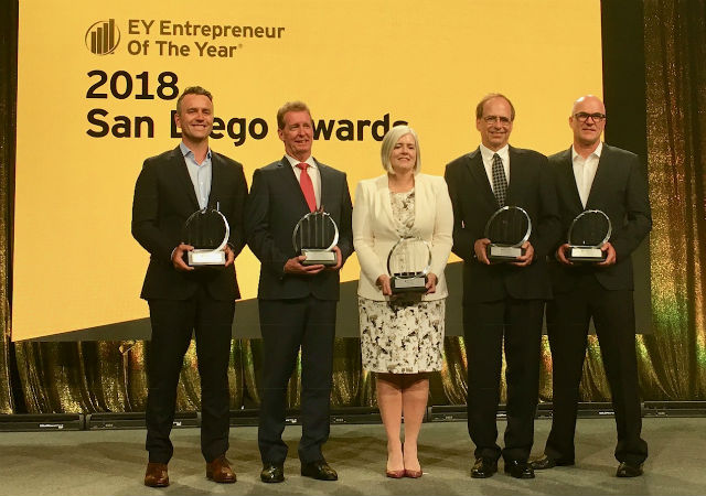 Entrepreneur of The Year winners