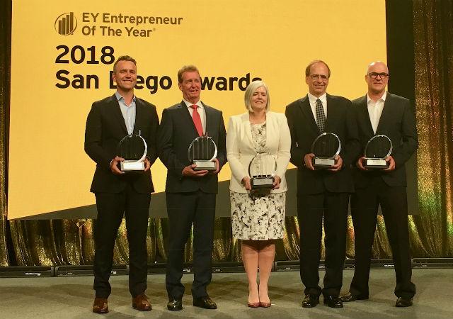 Entrepreneur of The Year winners