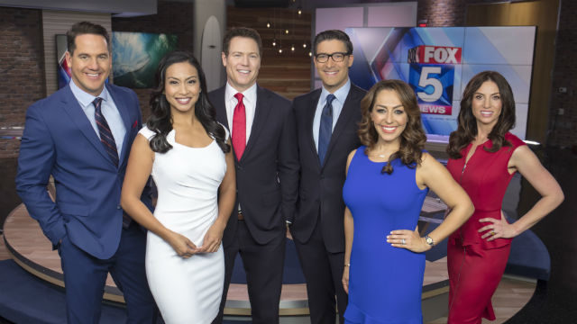 Fox5 morning team.