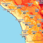 Forecast highs on Friday