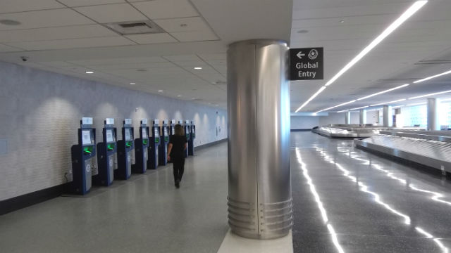 Global entry terminals