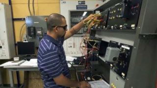 Training in industrial electronics