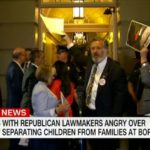 Rep. Juan Vargas protests family separations