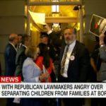 Rep. Juan Vargas protests family separations