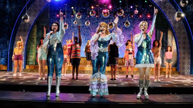 """Scene from """"Mamma Mia!"""""""