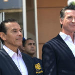 Antonio Villaraigosa and Gavin Newsom