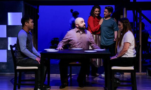 "Cast of ""Next to Normal"""