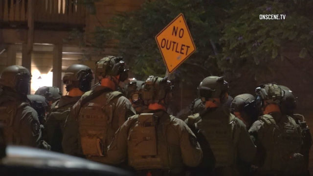 San Diego Police SWAT team