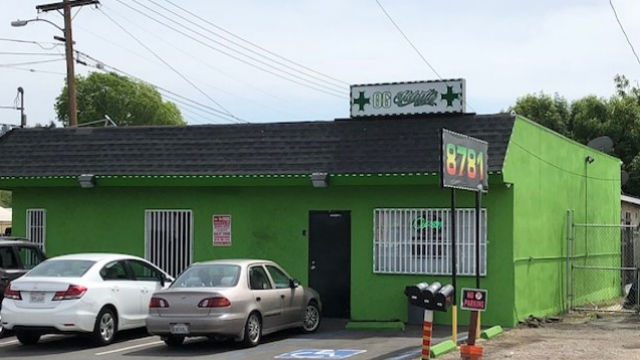 Marijuana dispensary in Spring Valley