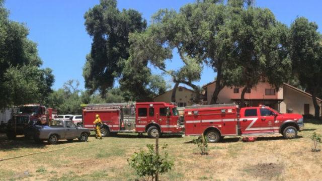 Cal Fire vehicles
