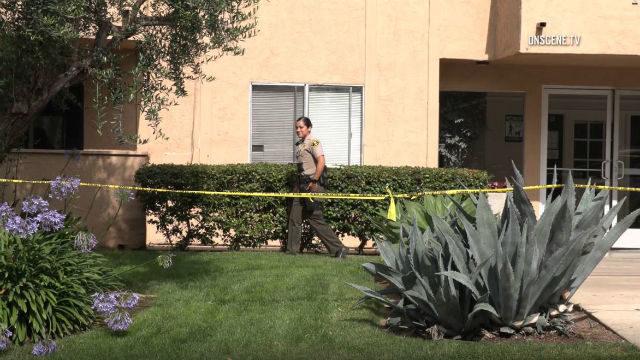 Deputy at crime scene