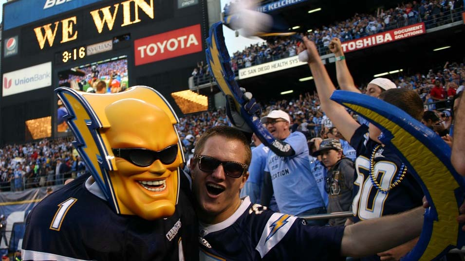 Boltman Asks Fans Time To Pull Plug On Chargers Mascot