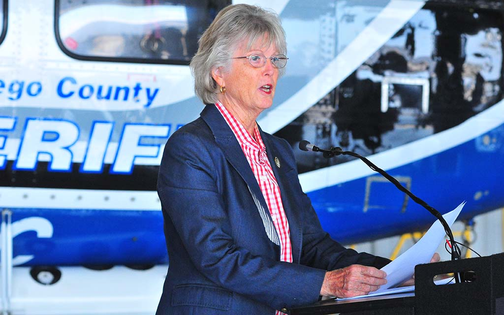 Supervisor Dianne Jacob tells how the county has spent $460 million in firefighting preparation since 2003.