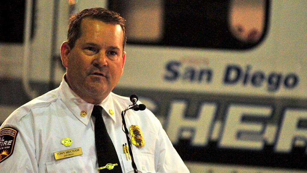 Cal Fire regional Chief Tony Mecham recalls Corey Iverson on the six-month anniversary of his death in Ventura County.