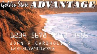 California's Electronic Benefit Transfer card.