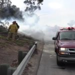 805 Freeway Fire